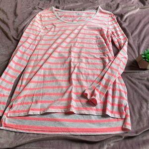 Gap Striped Pink Long sleeve Tee NWOT